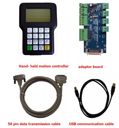 dsp cnc panel set 0501